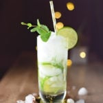 A Simpler Mojito - Try this recipe using simple syrup if you've had trouble getting sugar to dissolve when you've made mojitos in the past.