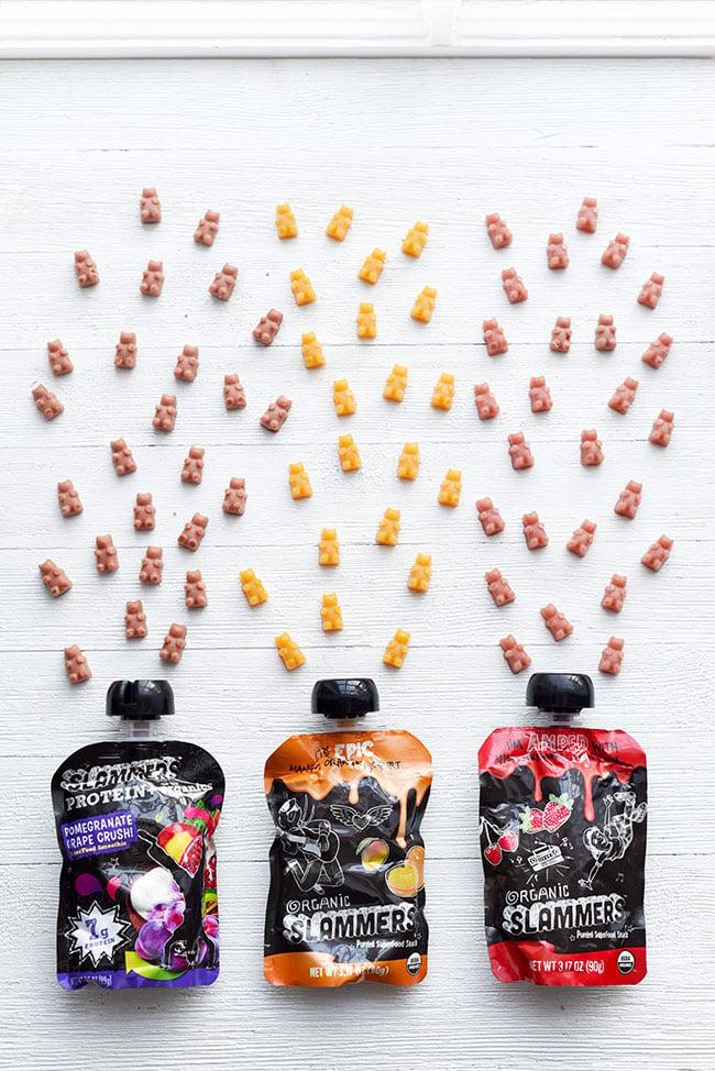 Homemade Fruit Snack Gummy Bears