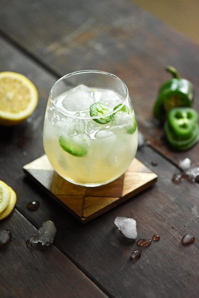 Spicy Mule Mocktail