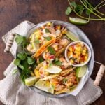 Spicy Shrimp Tacos with Pineapple Salsa