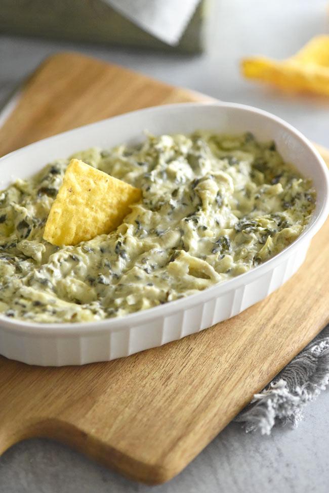 Spinach Artichoke Dip Appetizer