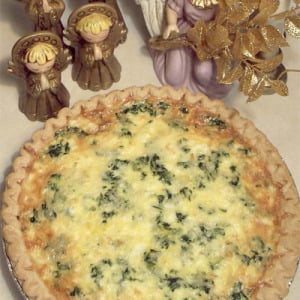 Heavenly Spinach & Feta Quiche