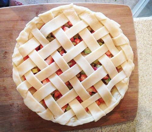 Step 6 - How to Make a Lattice Pie Crust