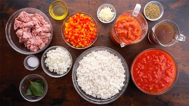 Stuffed Pepper Soup Ingredients