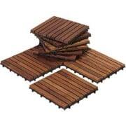 Teak Deck Patio Tiles