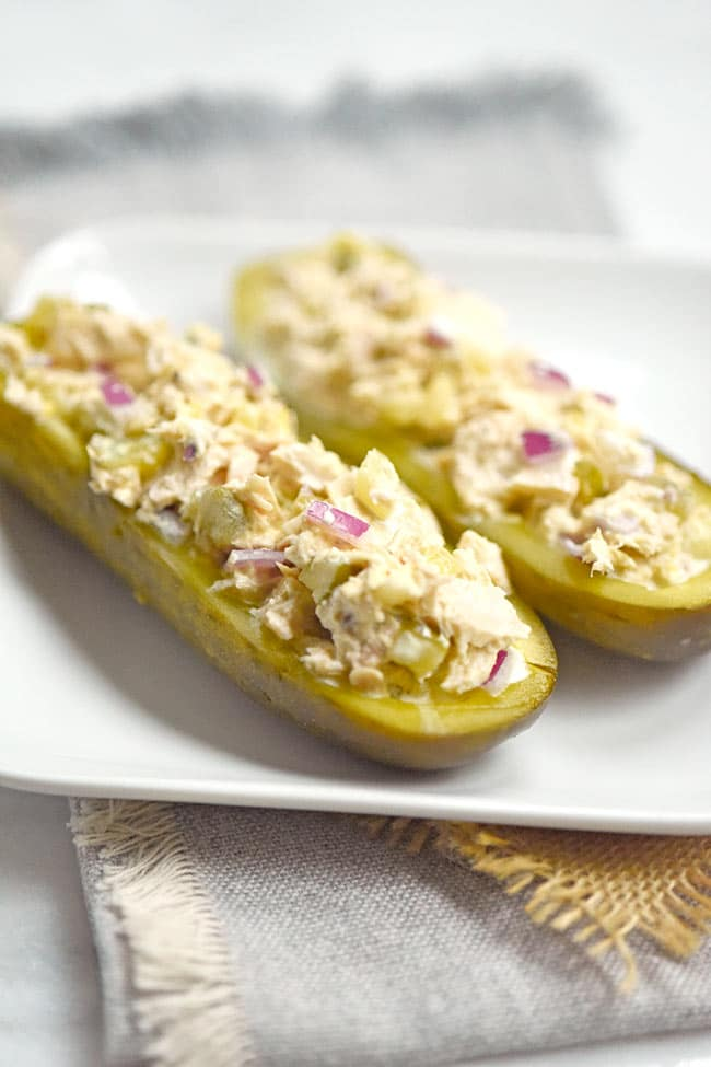 Tuna Pickle Boats