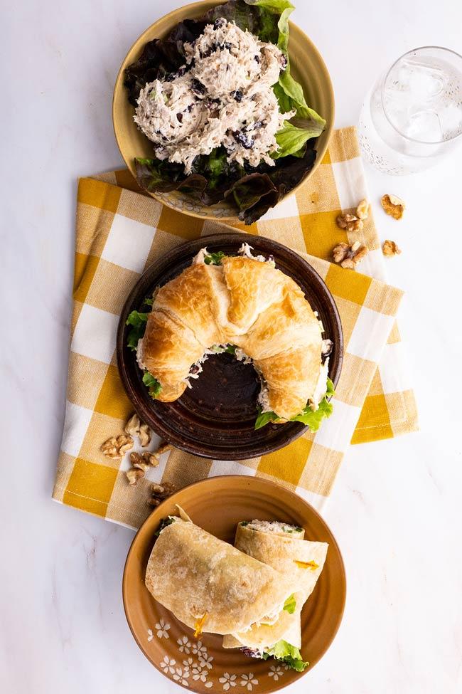 Chicken Salad - 3 ways