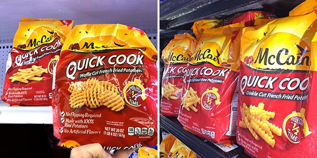 McCain® Quick Cook Fries at Walmart