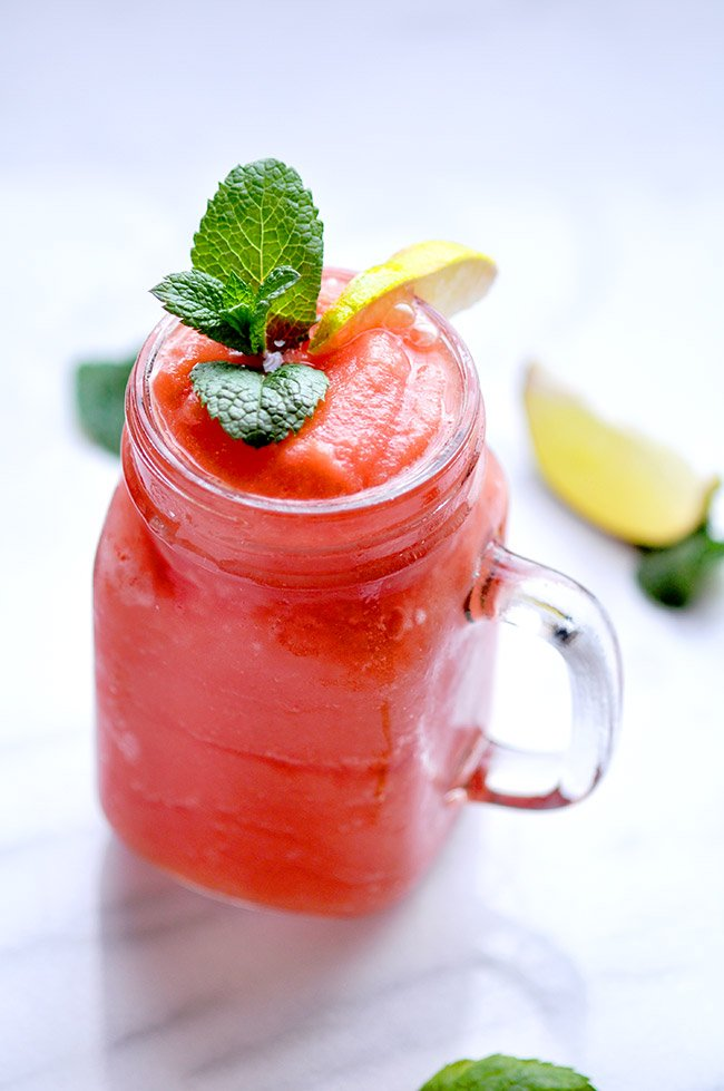 Watermelon Lime Slushie