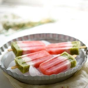 Homemade Watermelon Popsicles