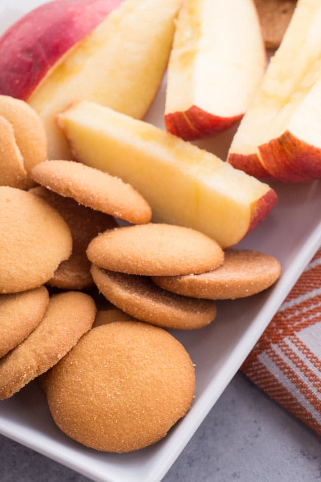 Nilla Waffers and Apples