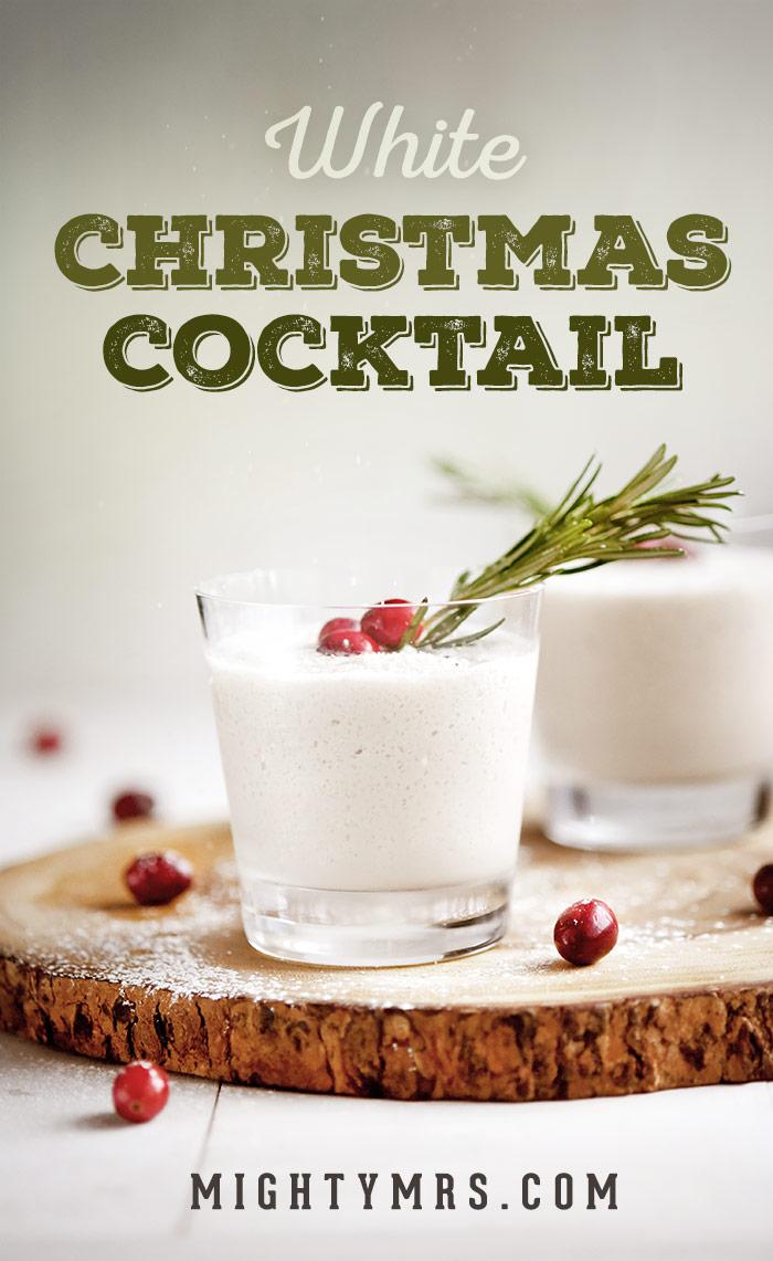 White Christmas Cocktail