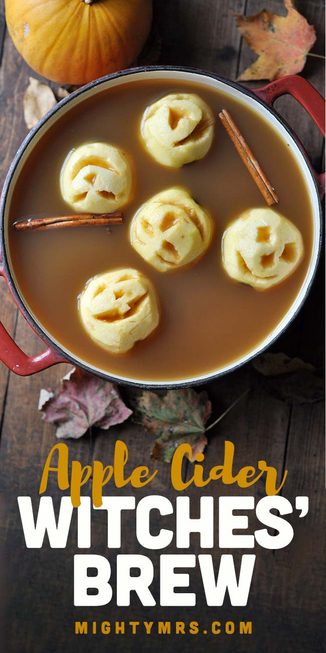 Witches' Brew Apple Cider Punch